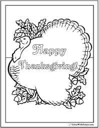 printable thanksgiving greeting cards happy thanksgiving coloring turkey greeting