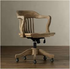 wooden desk chairs with wheels a guide on vintage wood office chair traditional office chairs