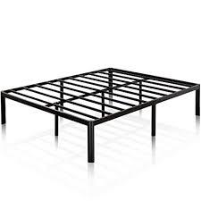 Amazon.com: Zinus Van 16 Inch Metal Platform Bed Frame with Steel ...
