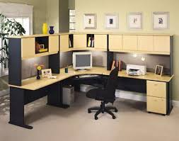 office corner workstation. image of office corner desk with filing drawers workstation o