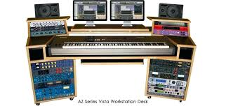studio desk workstation audio desks the origin recording is designed provide a compact flexible and