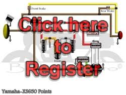 yamaha wiring diagrams xs 650 simple wiring diagram points ignition