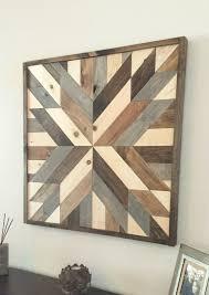 rustic wood wall art barn wood decor