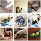 Как сделать игрушки своими руками для котенка