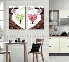 Großhandel Freies Verschiffen 2 Stück Wand Leinwand Kunst Küche Wandkunst Leinwand Malerei Für Esszimmer Leinwand Wandkunst Dekoration Von Shouya2018