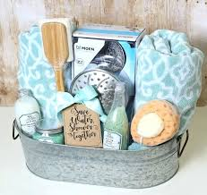 homemade gift basket ideas this clever and funny wedding gift basket idea has a shower theme