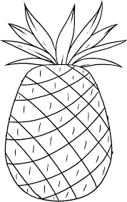 Small Picture Smooth Cayenne Pineapple from Hawaii Coloring Page Download