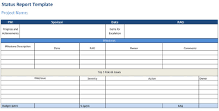 Weekly Project Status Report Sample Status Report Template Projectmanager Com