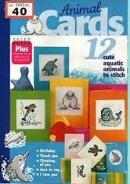 Aquatic Animals Chart Cross Stitch Chart Animal Alphabet Numbers Charts Cute