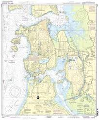 Noaa Nautical Chart 18427 Anacortes To Skagit Bay