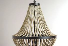 pottery barn beaded chandelier white beaded chandelier
