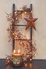rustic star decor best primitive country images on bathrooms bear