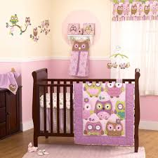 bedding sets by cocalo owl wonderland 5 piece baby crib bedding set with per