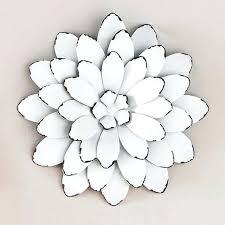 metal flower wall art canada