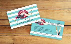 Lipsense Business Cards Senegence International By Vickydigital