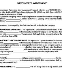 Noncompete Agreement - April.onthemarch.co