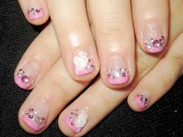 French Tip Nail Design Ideas French Manicure With Bow Accent Nail Nails Cute White Tip