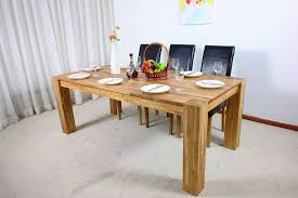 image of modern dining room tables solid wood designs