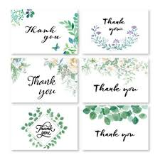 Baby Card Notes Thank You Cards Floral Thank You Notes With Envelopes For Wedding Baby Shower Bridal Shower Anniversary Greetings Card Online Greetings Cards From