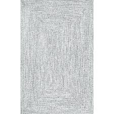 gray white rug hand braided gray indoor outdoor area rug dark grey couch white rug