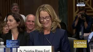 LIVE: Professor Christine Blasey Ford & Supreme Court nominee ...