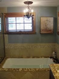 chandelier over bath tub in saint paul