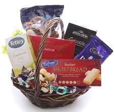 sweet and savoury gift basket