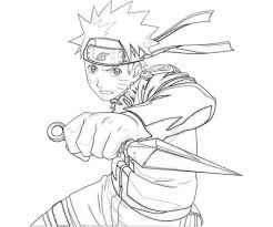 Printable Naruto Coloring Pages For Kids
