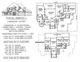 2 Story, 5 Bedroom, 5.5 Bathroom, 1 Dining Room, 1 Family Room, 1 Study, 1  Game Room, 1 Kitchen, And 3 Car Garage  4068 SQ Feet House Plan