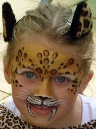 p1070021 face paint world leopard makeup for