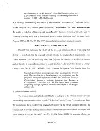 Case No 19 Ca 001382n Property Owners And Citizens Of Hillsborough