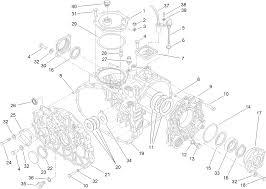 Case assembly transaxle assembly no 120 7610