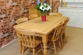 Pine Farmhouse Kitchen Table Tudor Pine Farmhouse Table Owen Pine Oak Furniture