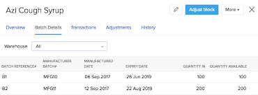 Stock Number Zoho Inventory Managing Your Tracked Items