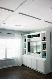 coffer lighting. Coffer Lighting. Faux Coffered Ceiling Using Beadboard And Moulding Lighting