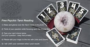 my free psychic tarot reading posts are answered here