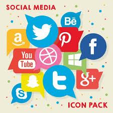 social media logos. social media logo pack free vector logos h