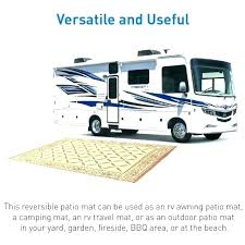 rv outdoor mats 9 x 20 awning rugs material patio reversible camping carpet indoor mat picnic