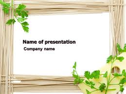 Noodle Frame Powerpoint Template Backgrounds 07579