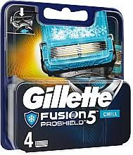 Набор - Gillette Fusion Proshield Chill (бритва/1psc + ... - MAKEUP