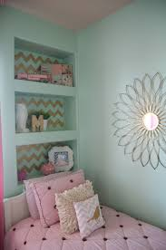 girls bedroom teal