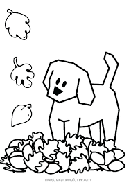 Free Printable Fall Leaves Coloring Pages Kindergarten Fall Coloring