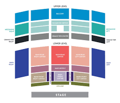 Copley Symphony Hall San Diego Seating Chart Plan Your Visit Seating Charts