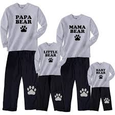 Bear Family Matching Outfits - Mama, Papa, Baby, More \u2013 Footsteps