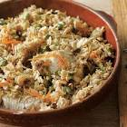 almond and pistachio rice with chicken