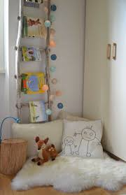 A simple but charming reading corner