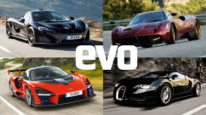 253 mph (much faster than a formula 1 car!!!) 16 cilinder engine with 4. Best Hypercars 2021 Our All Time Top 12 Reviewed And Rated Evo