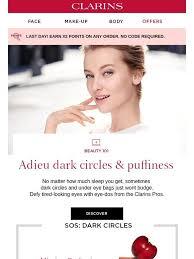 <b>Clarins</b> USA: Beauty <b>101</b>: Say 'adieu' to dark circles + FREE gift for ...