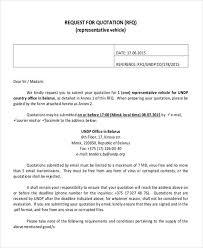 Cotation Sample 28 Sample Quotation Letters Pdf Doc