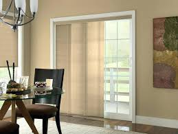 door panel shades inside mount track to cover a sliding glass budget blinds of